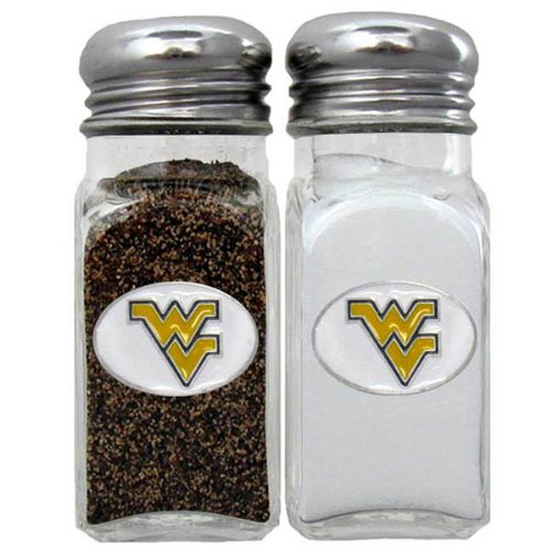 NCAA West Virginia Mountaineers Salt & Pepper Shakers