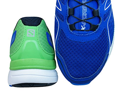 Salomon L39027600, Zapatillas De Trail Running para Hombre Azul (Blue Yonder /     Tonic Green /     White)