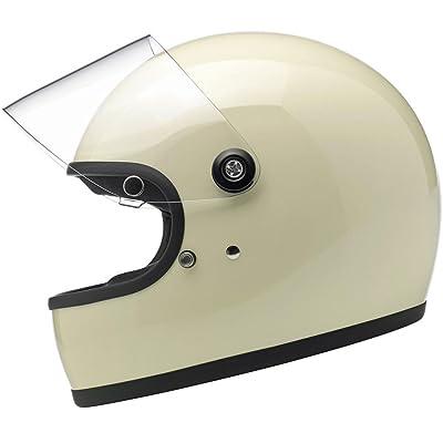 Biltwell Gringo S Helmet - Gloss Vintage White - X-Large