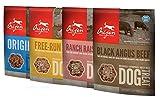 Orijen Freeze Dried Dog Treats 4-Pack (Original, Angus Beef, Alberta Lamb, Free-Run Duck)