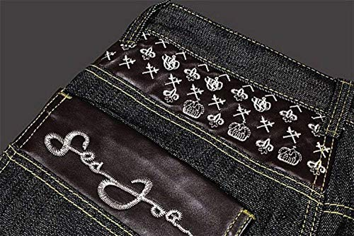 Larghi hop Classiche Di Jeans Hip Casual Classico Ablack Classici Uomo Aladdin Ragazzi Ballo Denim Da Confortevoli Pantaloni In Stile zXq611
