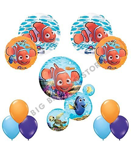 (Finding Nemo Ultimate 11pc Birthday Party Balloon)