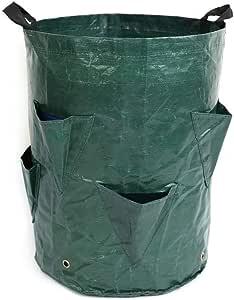 Sarahjers-Tool Bolsa de Hoja caduca Bolsas jardín Bolsas Reutilizables Jardín Hoja caduca Consigna de jardinería Barriles de Belleza plantación PP Bolsas Bolsas de Basura de jardín: Amazon.es: Hogar