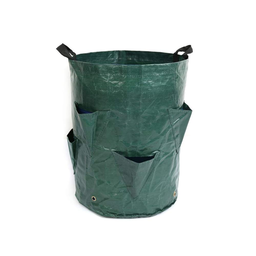Cherlvy Reusable Garden Deciduous Storage Bags, Garden Gardening Barrels, Beauty Planting Bags, PP Garden Garbage Bags.