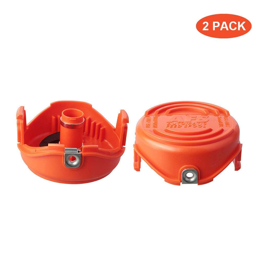 Faracent Thten Trimmer Spools Cap Covers Compatible with Black Decker SF-080 GH3000 LST540 Weed Eater with 90583594 Cap Covers Parts Auto-Feed Single ...