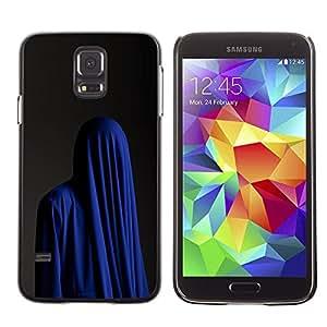LECELL--Funda protectora / Cubierta / Piel For Samsung Galaxy S5 SM-G900 -- Fashion Religion Muslim Burka Blue --
