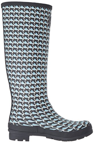 Boot Rain Swan Grey Women's Joules Welly Geo Print RgwvvU4q