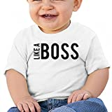Toddler/Infant Kids Like A Boss Summer Short-Sleeve T-Shirt Tops Outfits