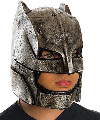 Rubie's Costume Batman v Superman: Dawn of Justice Kid's Armored Batman Full Mask ()