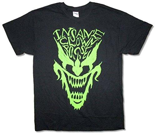 Insane Clown Posse Green Face Hip Hop Juggalo Black T Shirt ICP (XL)