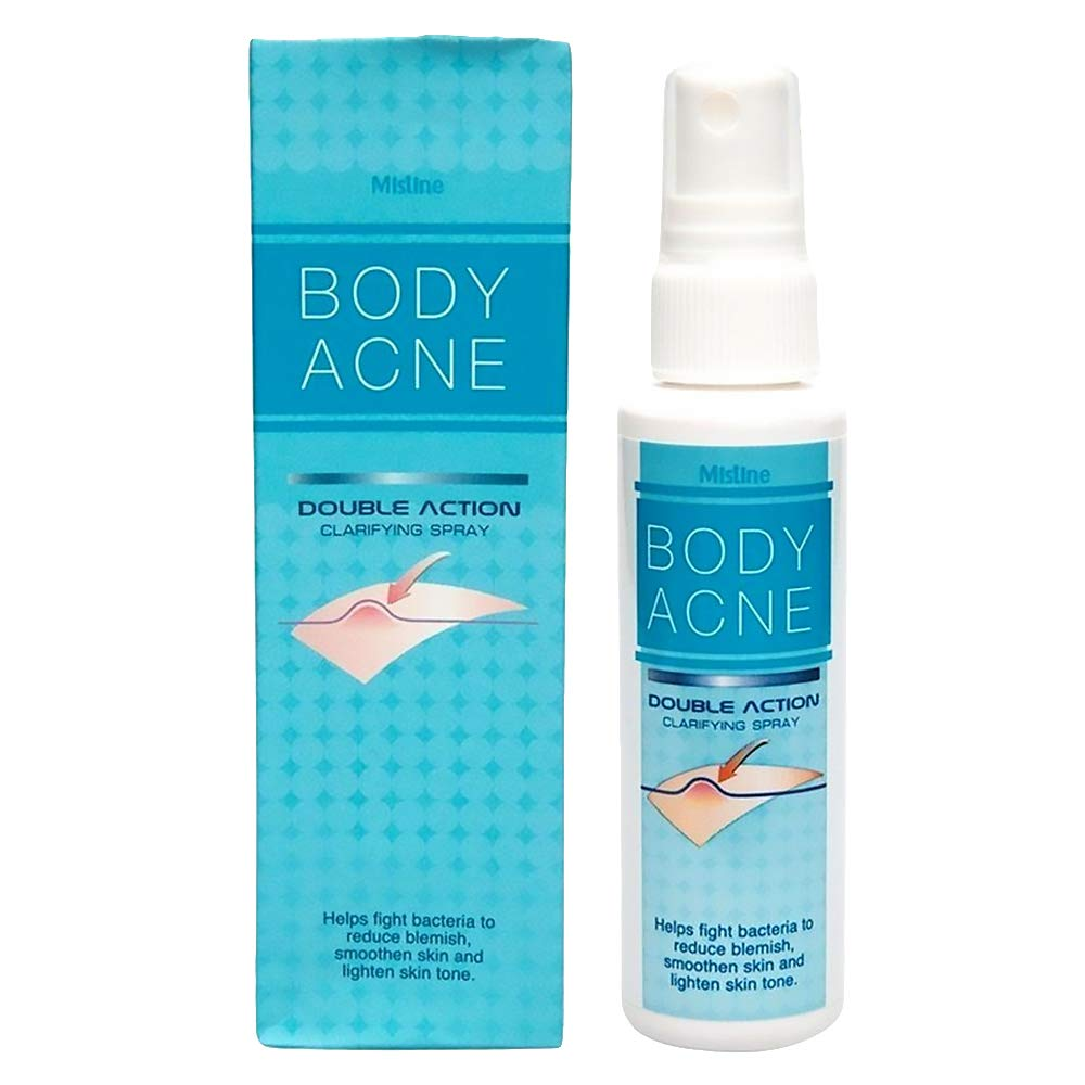 Amazon Com Mistine Body Acne Spray Double Action Clarifying Acne