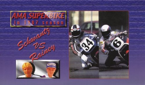 AMA Superbike in 1987 season (Japan Import)