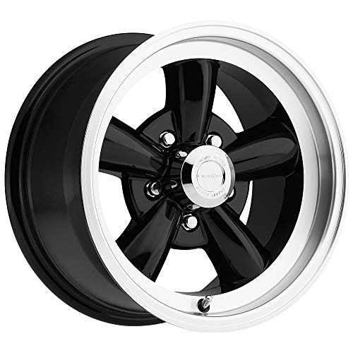 Vision 141 Legend 5 Gloss Black Machined Lip Wheel with Machined Finish - Machined Lip Wheels