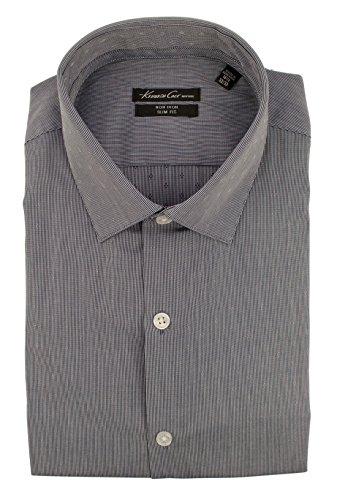 Kenneth Cole New York Men's Slim Fit Long Sleeve Dress Shirt-RB-17 - New Rb York
