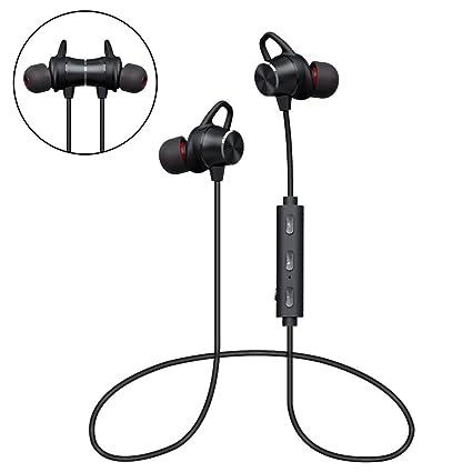 Amazon Com Bluetooth Headphones Grde Wireless Magnetic Earbuds