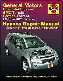 Haynes Repair Manual for 2006-2009 Pontiac Torrent Shop Service Garage oz