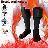 Junda Electric Warm Heated Socks Warm Thermal Socks, Battery Operated, Winter Foot Warmers