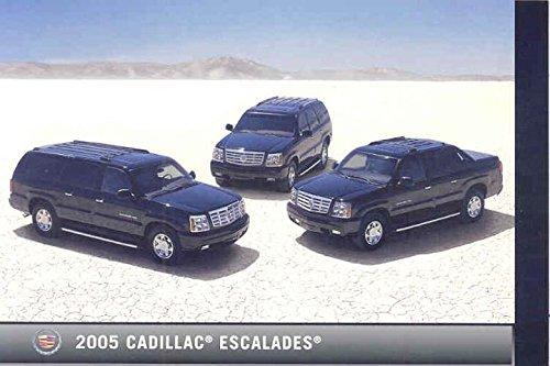 2005 Cadillac Escalade ORIGINAL Factory Postcard 2005 Escalade Collectible