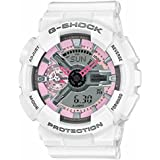 Casio G-Shock GMAS110MP-7A S Series Analog Digital White Watch