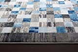 Persian-Rugs 2400 Gray 5'2×7'2 Area Rug Modern Carpet Large New Review