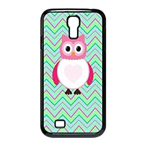 Owl art Pattern Hard Shell Phone Case For For Samsung Galaxy S4 Case color19