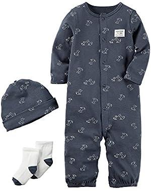 Carter's Baby Boys' 3-Piece Bodysuit Set