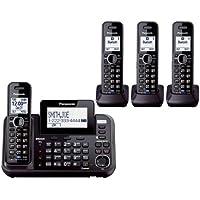 Panasonic KX-TG9542B + Two KX-TGA950B 4-Handset Corded / Cordless System (2 Line) DECT 6.0 1.9Ghz