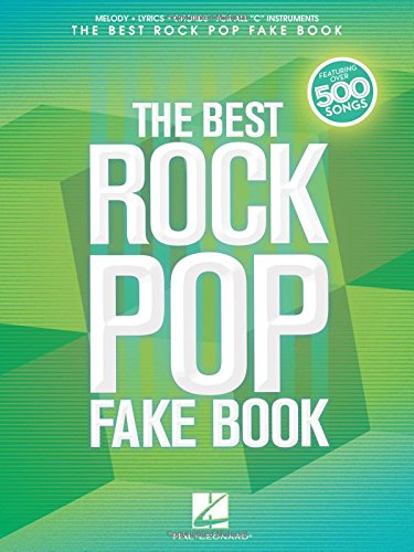 The Best Rock Pop Fake Book: for C ()