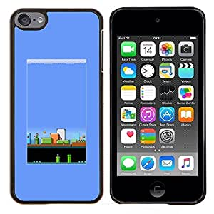 Planetar® ( Juego Pc Retro Gaming 80'S Vintage ) Apple iPod Touch 6 6th Touch6 Fundas Cover Cubre Hard Case Cover