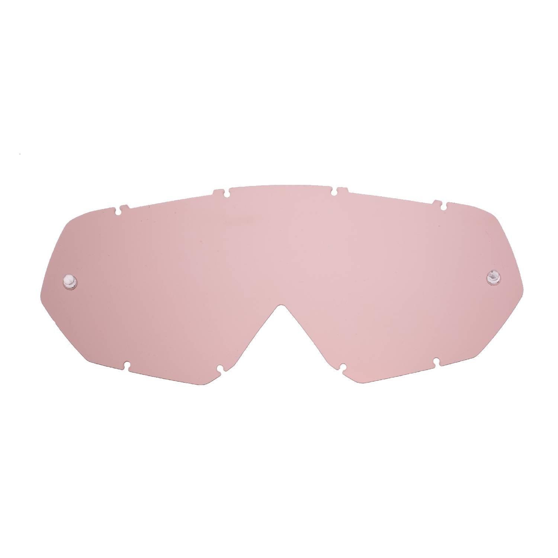 SeeCle 41T108 lentilles de rechange pour masques orange effet miroir compatible avec masque Thor Enemy / Hero