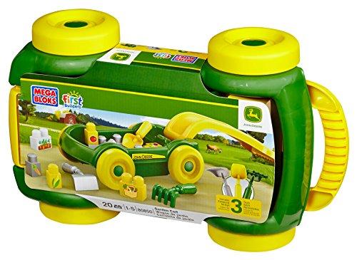 Mega Bloks John Deere Garden Cart by Mega Bloks