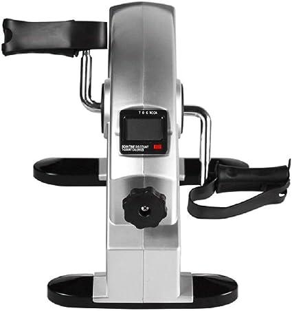 OKSS Hogar Portátil Ejercitador Pedal Mini Bicicleta Estática Gym ...