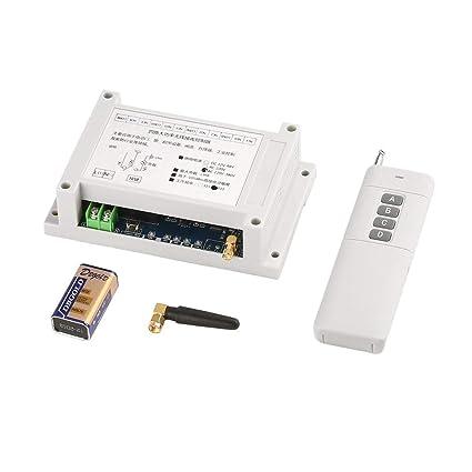 Interruptor de 4 vías RC de 220-380 V de ancho ancho con 4 ...