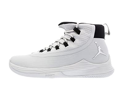 timeless design b3c0e 09f3a Nike Men s Jordan Ultra Fly 2 TB, Pure Platinum Metallic Silver Black,