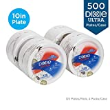 """Dixie Ultra 10"""" Heavy-Weight Paper Plates by GP PRO (Georgia-Pacific), Pathways, SXP10PATH, 500 Count (125 Plates Per Pack, 4 Packs Per Case)"""
