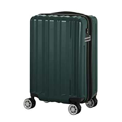 694f101a39 Amazon | [レジェンドウォーカー] スーツケース 機内持ち込み対応 保証付 37L 49 cm 3kg グリーン | LEGEND WALKER (レジェンドウォーカー) | スーツケース