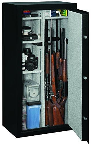 Stack-On SS-22-MB-E SS22 Gun Safe, 22, Black