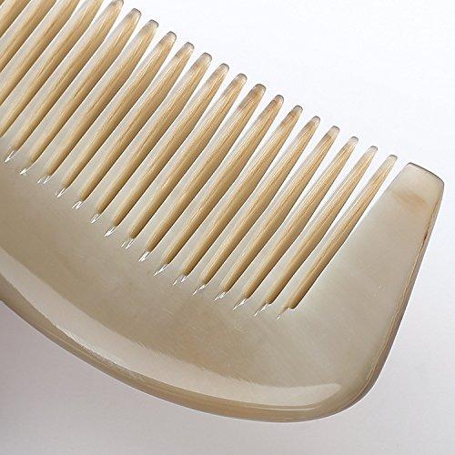GuiXinWeiHeng Handmade white horns comb comb by GuiXinWeiHeng (Image #7)