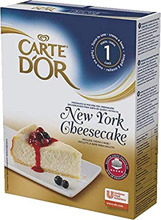 Carte DOr Tarta de queso New York cheesecake deshidratado - 1 tarta para 10
