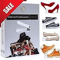 Modern Livin Shoe Slots Organizer 10 Piece Set