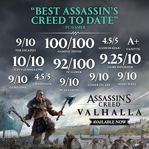 Assassin's Creed Valhalla Xbox Series X|S - Pre-load, Xbox One Standard Edition [Digital Code]