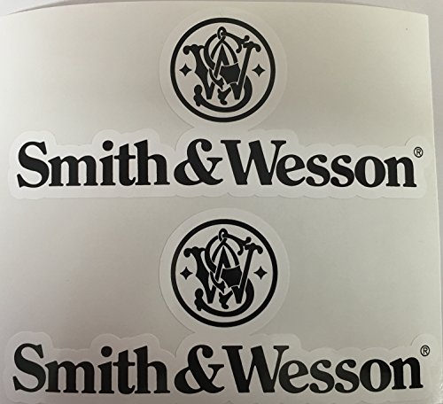 2 Smith & Wesson Die Cut Decal