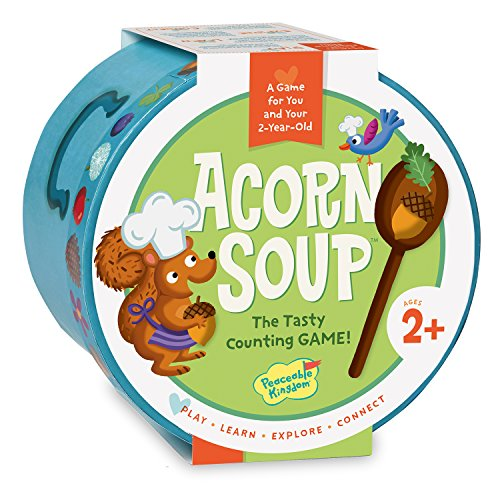 Peaceable Kingdom/Acorn Soup: A Game for You and Your 2-Year-Old ()