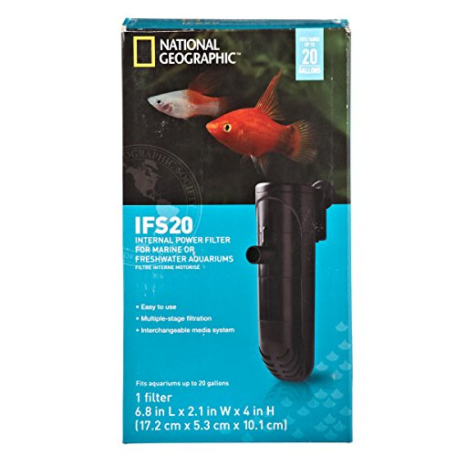 National Geographic IFS Aquarium Filter (20 Gal)