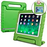 Cooper Dynamo [RUGGED KIDS CASE] Protective Case for iPad 4, iPad 3, iPad 2 | Child Proof Cover with Stand, Handle | A1458 A1459 A1460 A1674 (Green)