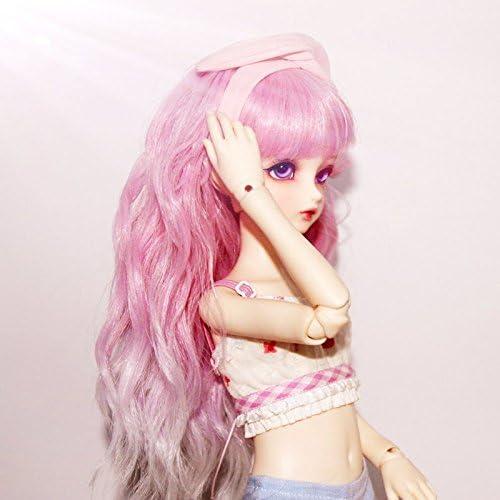 #100 Long Straight Large 48cm Hard 2 Get Doll Wig