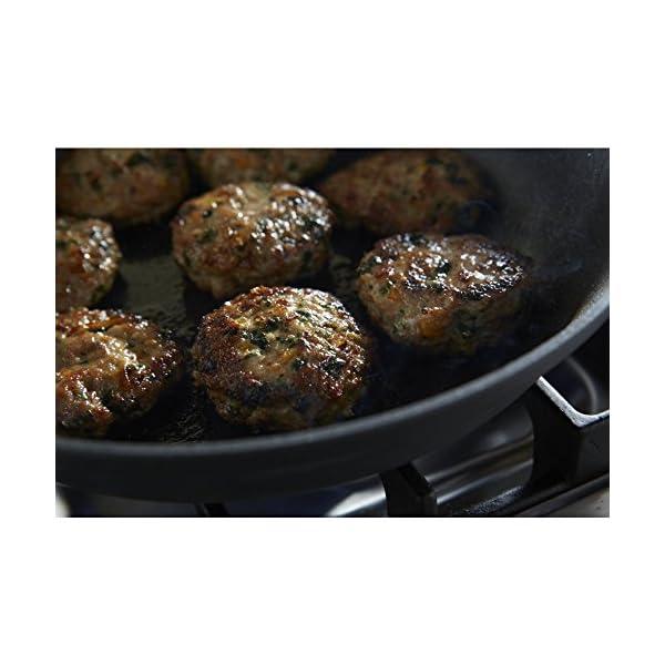 Calphalon 2 Piece Contemporary Frying Pan Set, Nonstick, Black 4