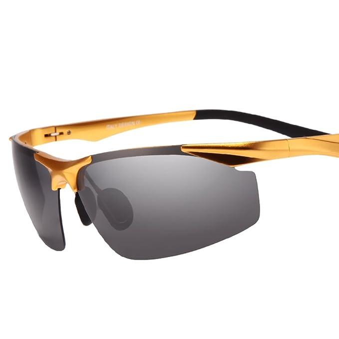 Gafas de sol polarizadas de los hombres/Día y noche tonos/Campaña condujo las