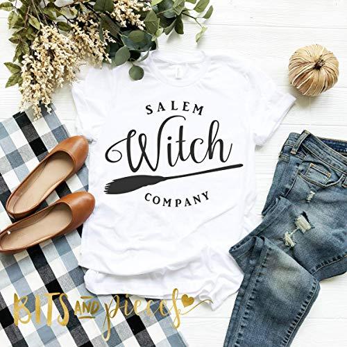 Salem Witch Company Shirt | Thanksgiving Shirt | Fall Shirt| Autumn Shirt| Pumpkin shirt | Halloween Shirt