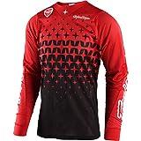 Troy Lee Designs SE Air Megaburst Men's Off-Road Motorcycle Jersey - Red/Black / Large